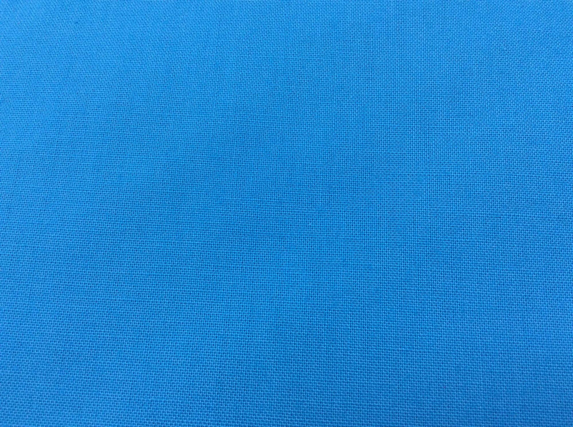 108 Wide Back Robert Kaufman  Kona Turquoise Solid