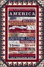 American Pride Quilt Kit