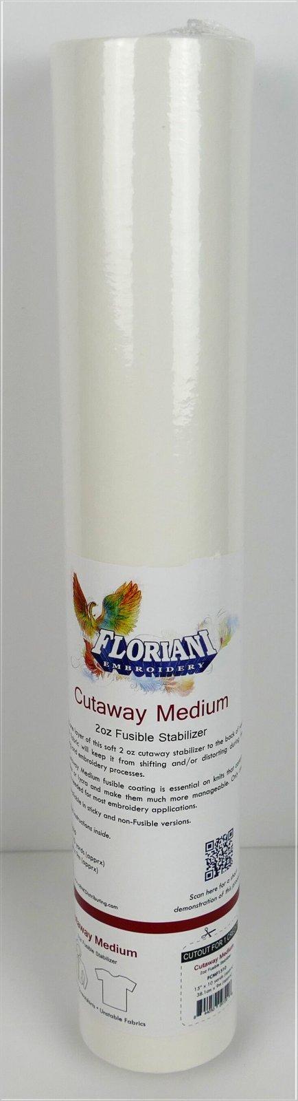 Floriani Cutaway Medium Fusible Stabilizer