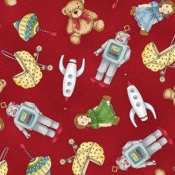 Maywood Christmas Joys Flan Toys Red