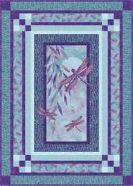 Night Dragonflies Pattern