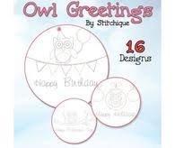 Artistic Owl Greetings