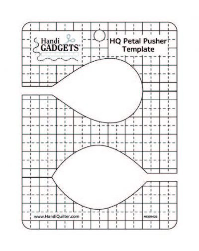 Handi Quilter Petal Pusher Ruler