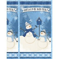 Wilmington Welcome Winter Large Panel Multi