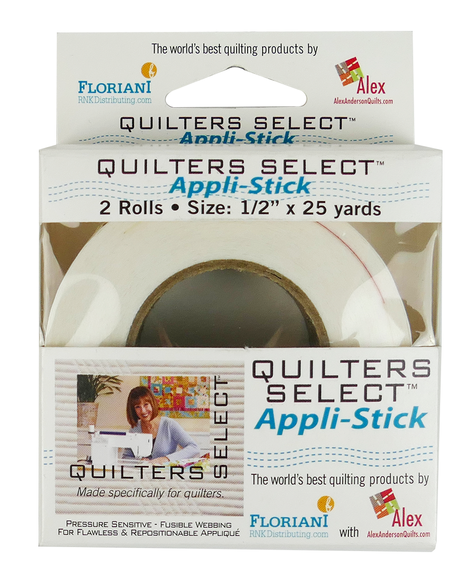 Quilters Select Appli Stick 1/2 x 25