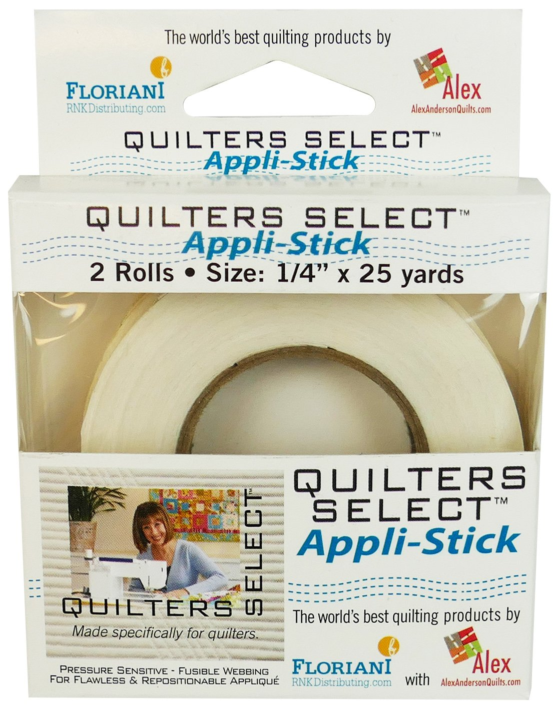 Quilters Select Appli Stick 1/4 x 25