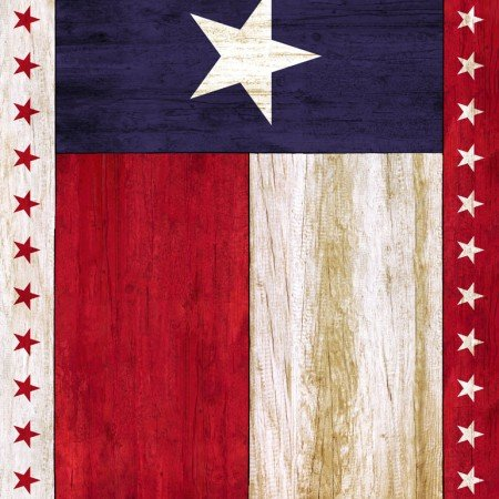 Timeless Texas Flag Panel
