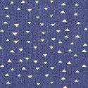 Windham Atlas Flannel Tiny Triangles Dk. Blue