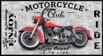 Blank Coast to Coast Motorcycles Panel