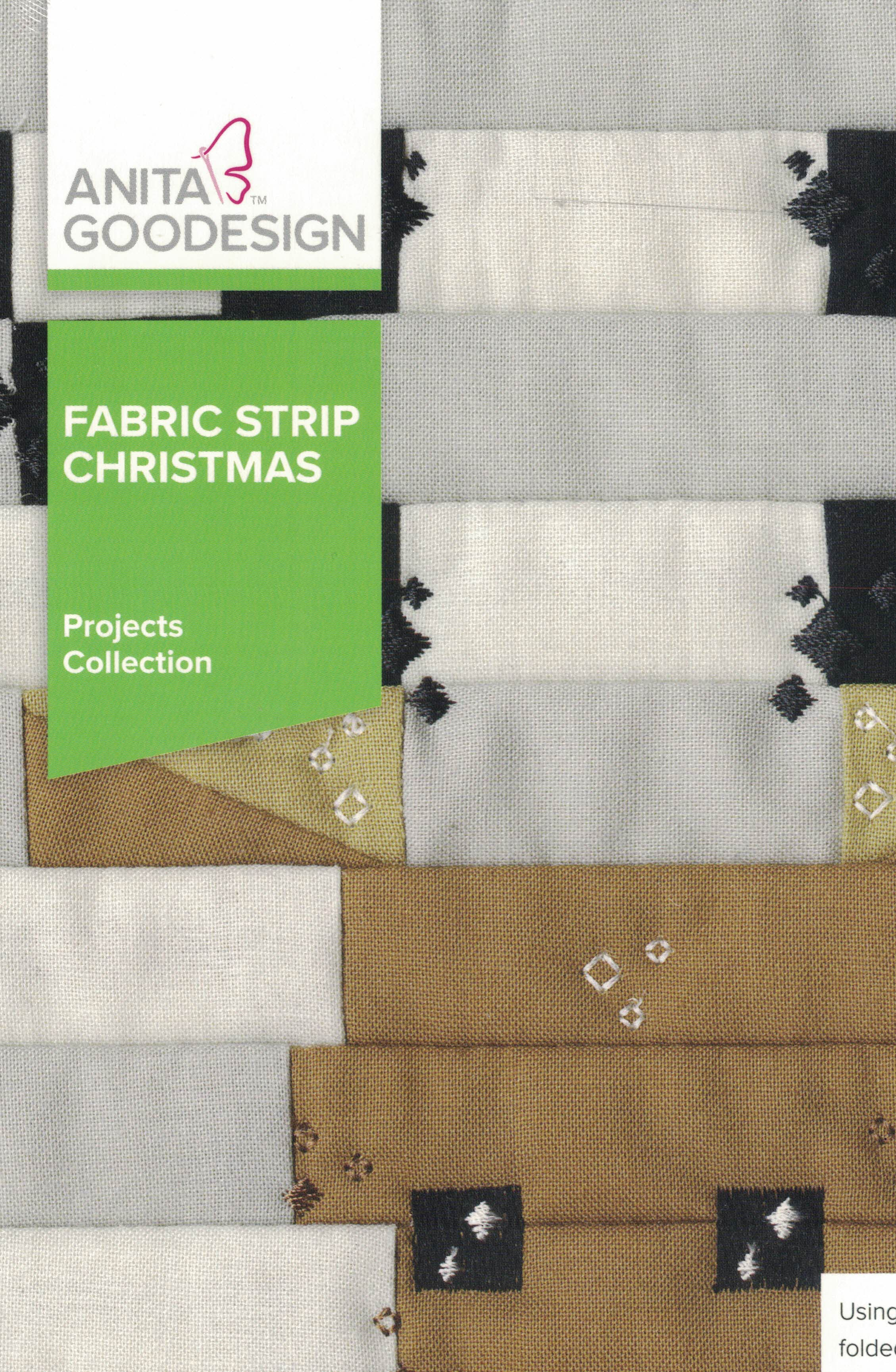 Fabric Strip Christmas Project Collection PROJ115