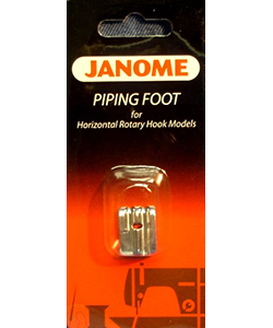 Janome Piping Foot - Piping FT Horiz Rotary BP-1