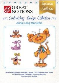 Annie Long Monsters CD