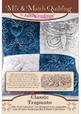 Classic Trapunto CD Mix & Match Quilting 215AGHD