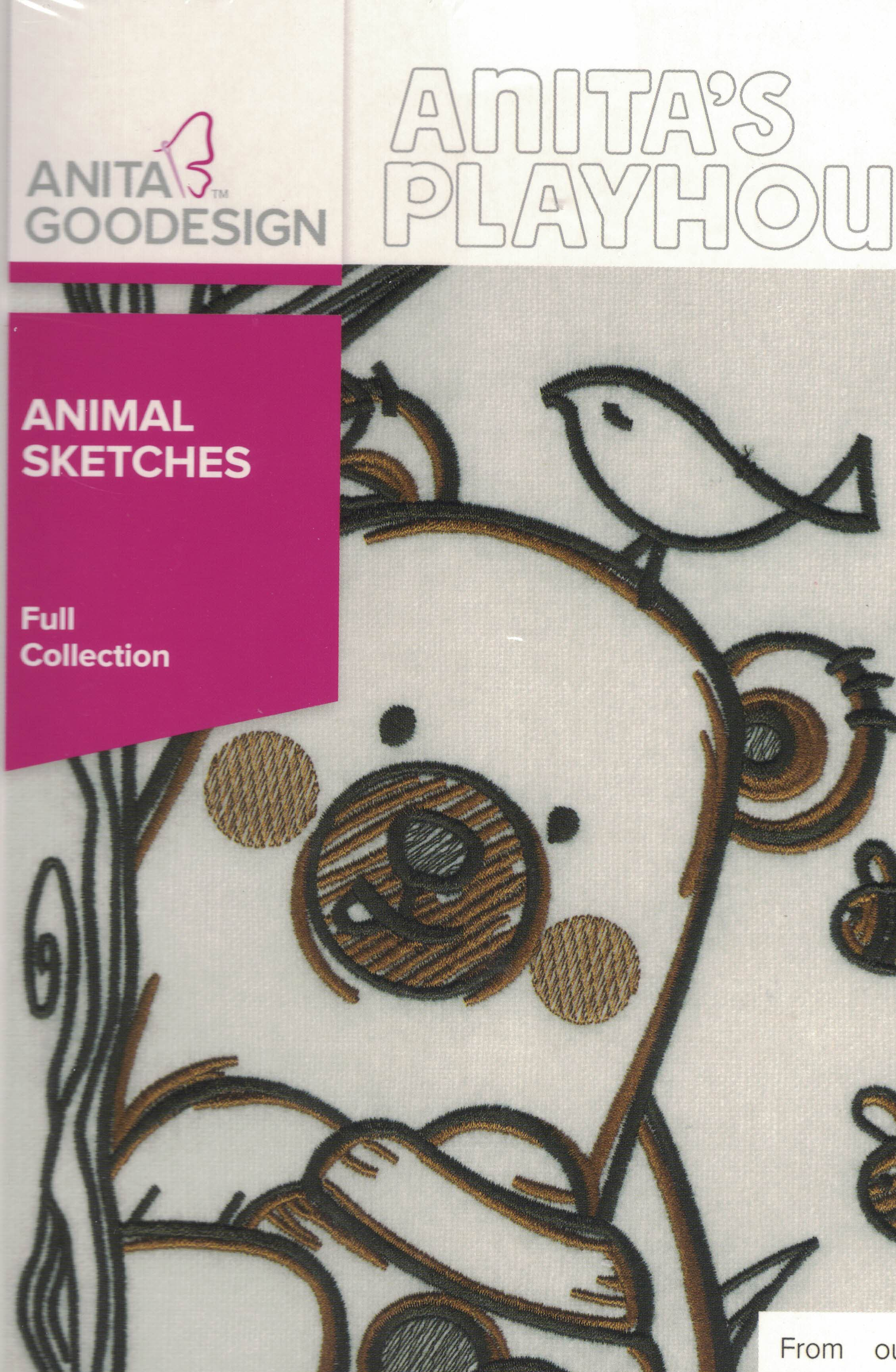 Animal Sketches CD Full Collection 284GHD