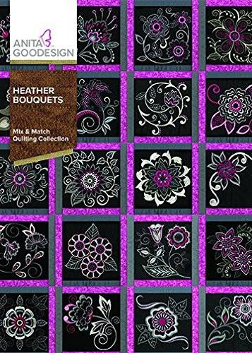 Heather Bouquets CD Mix & Match Quilting 324AGHD