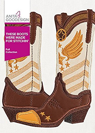 These Boots Were Made For Stitchin Full Collection Cd 348AGHD