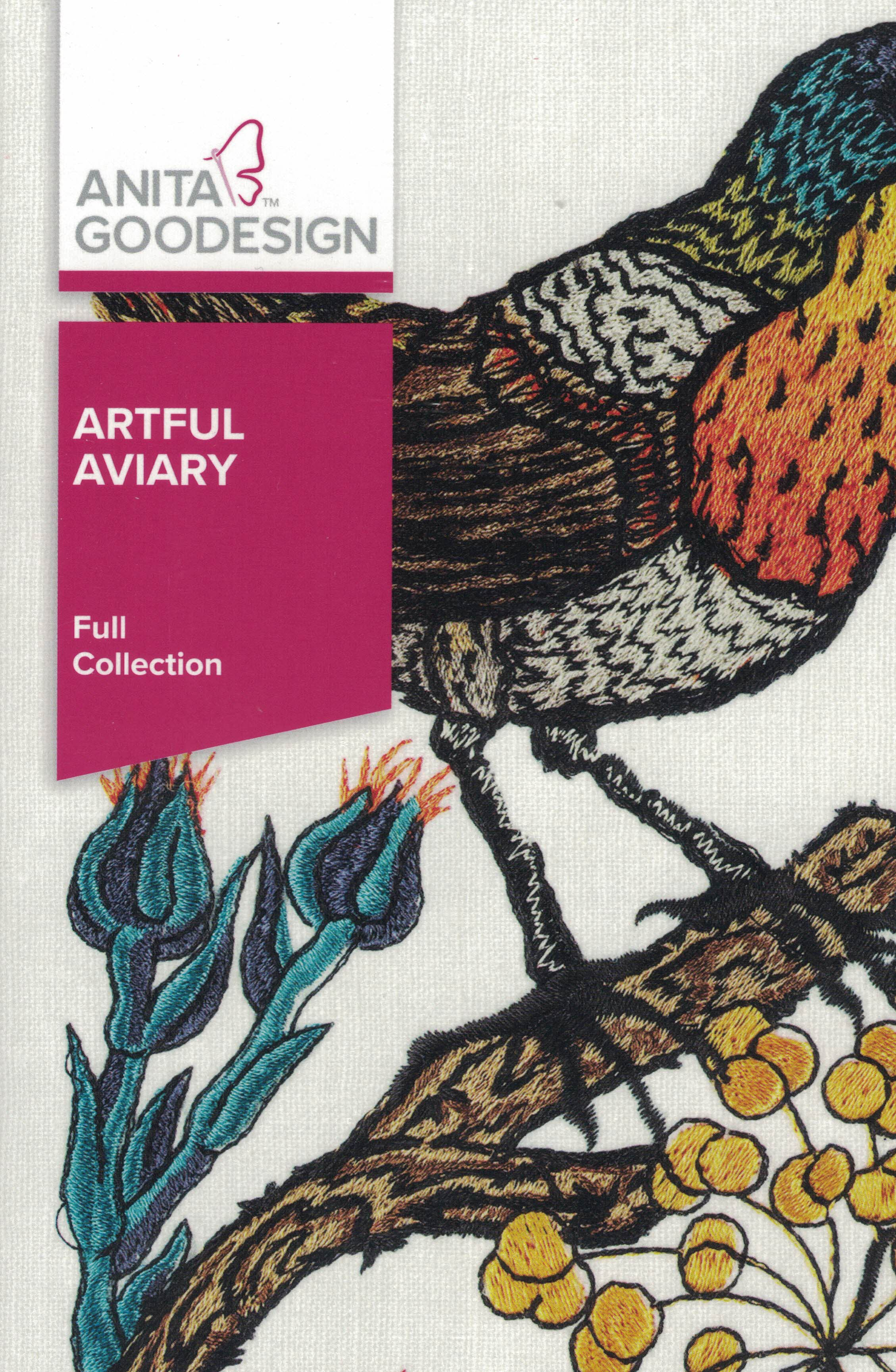 Artful Aviary Full Collection Cd 349AGHD