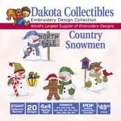 Country Snowmen CD