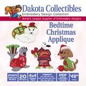 Bedtime Christmas Applique CD