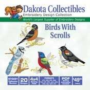 Birds With Scrolls CD