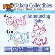 Announcing Baby CD