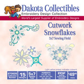 Cutworks Snow Flakes CD
