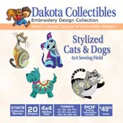 Stylized Cats and Dogs