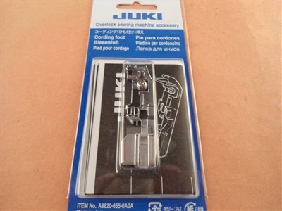 Juki Overlock/Serger Cording Foot for MO1000 series