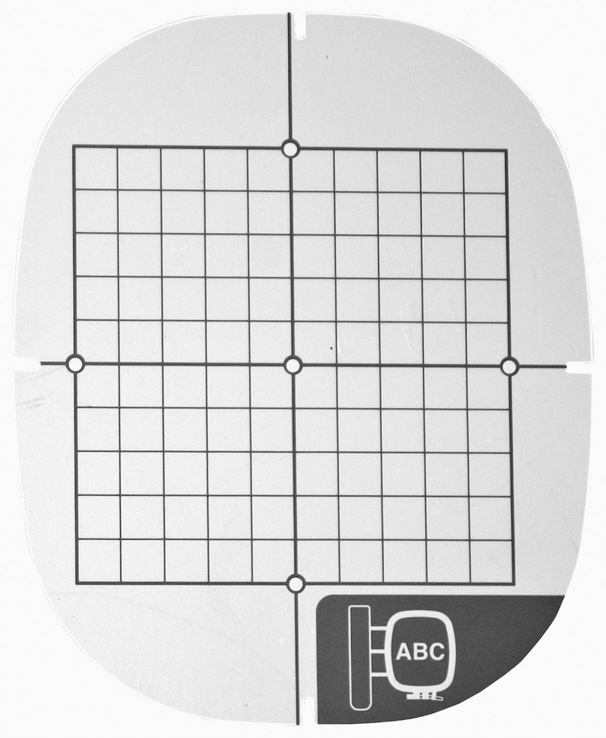 Baby Lock 4X4 Medium Grid Sheet BLG BLN ELLEG