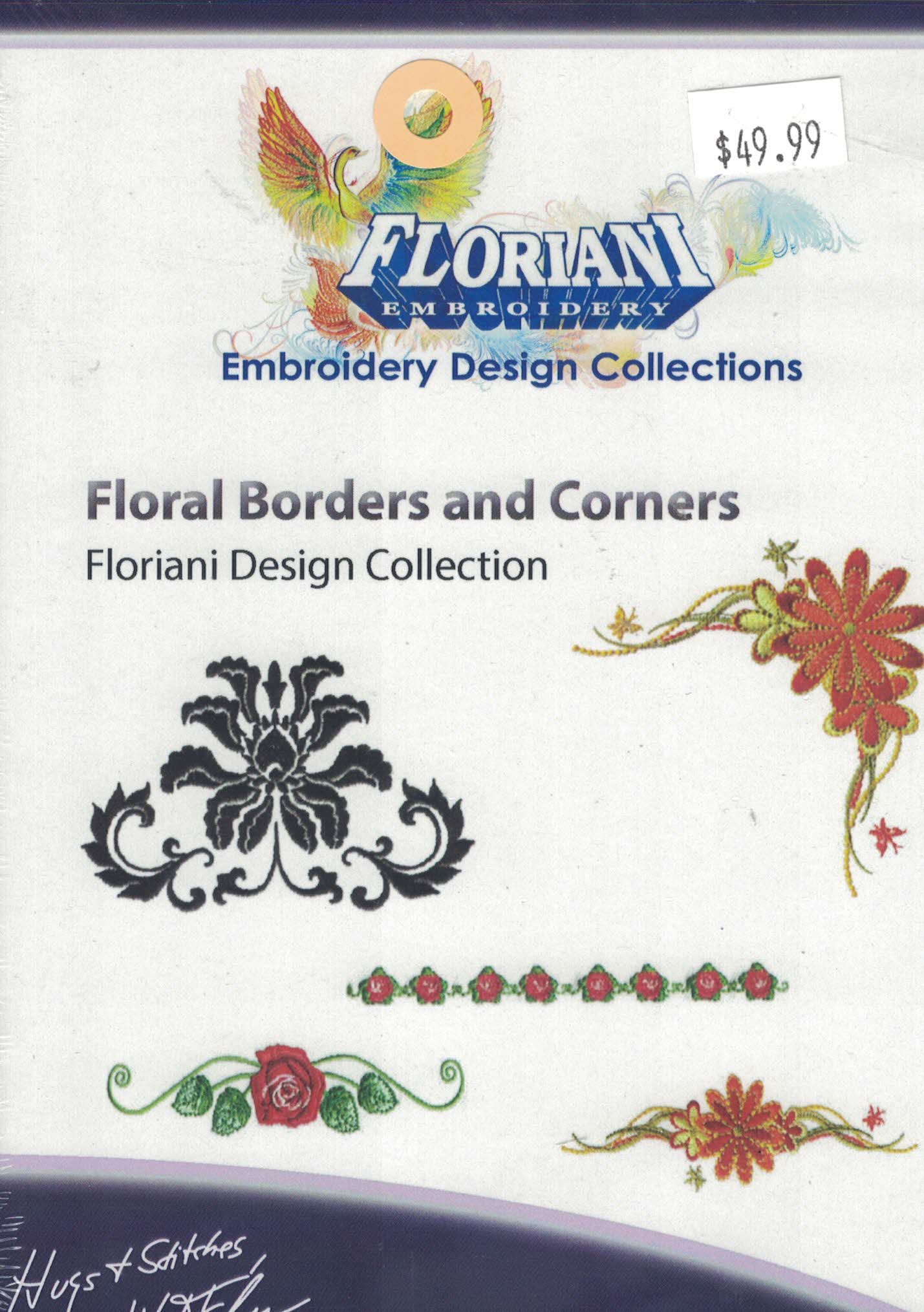 Floral Borders and Corners CD