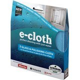 E-Cloth Glass And Polishing Cloth 4 pk