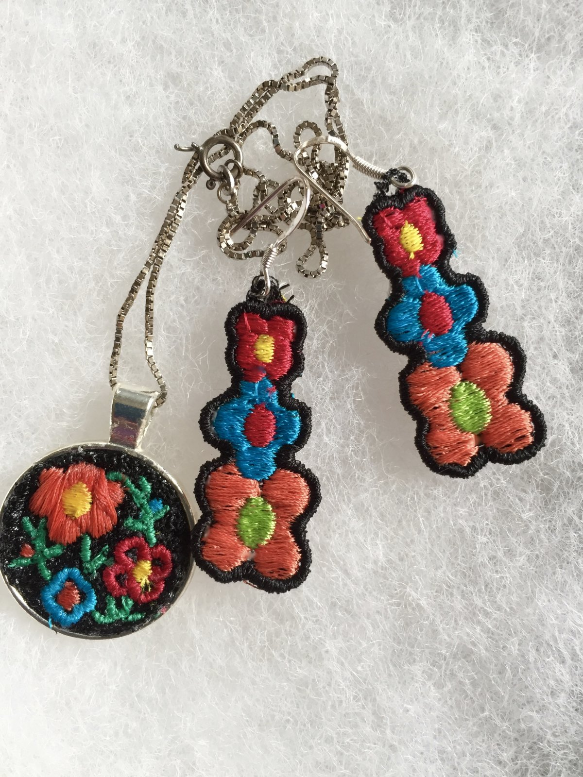 Summer Machine Embroidery Classes