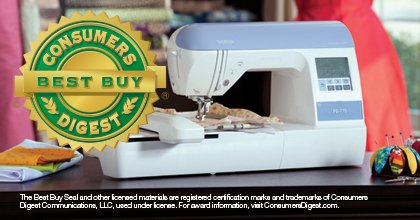 PE770 5x7 Embroidery Only  Machine