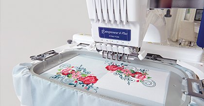 Entrepreneur 6-Plus PR670E 6-Needle Home Embroidery Machine