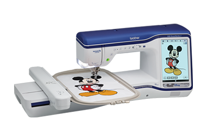 THE Dream Machine  II   XV8550D with Disney Sewing and Embroidery Machine Combo