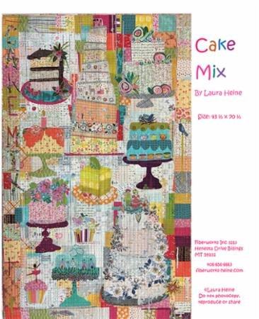 Pattern - Cake Mix Collage - LHFW Cake