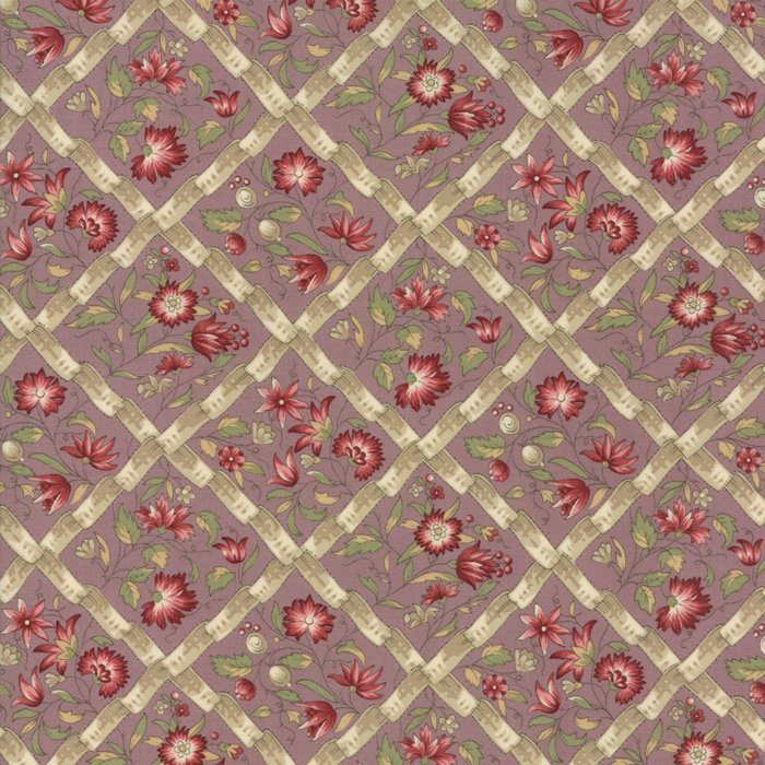 Fabric - Jardin d' Ver - Lavender 13812-14