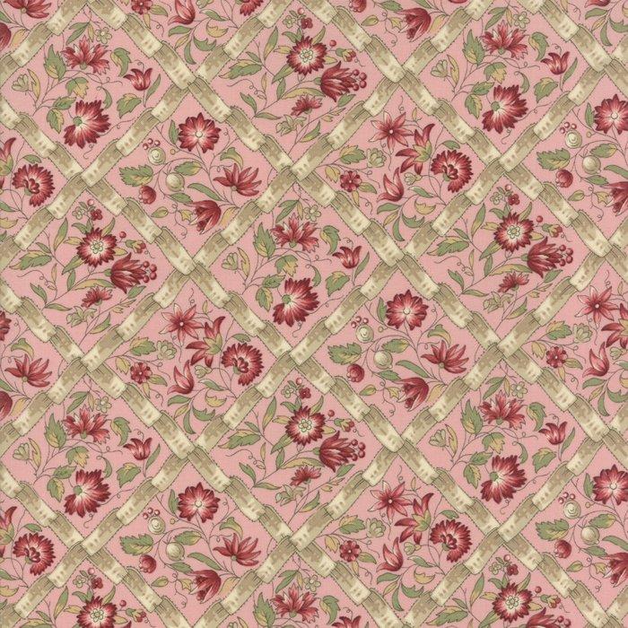 Fabric - Jardin d' Ver - Pale Rose 13812-16