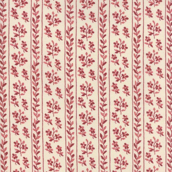 Fabric - Jardin d' Ver - Rouge 13813-13
