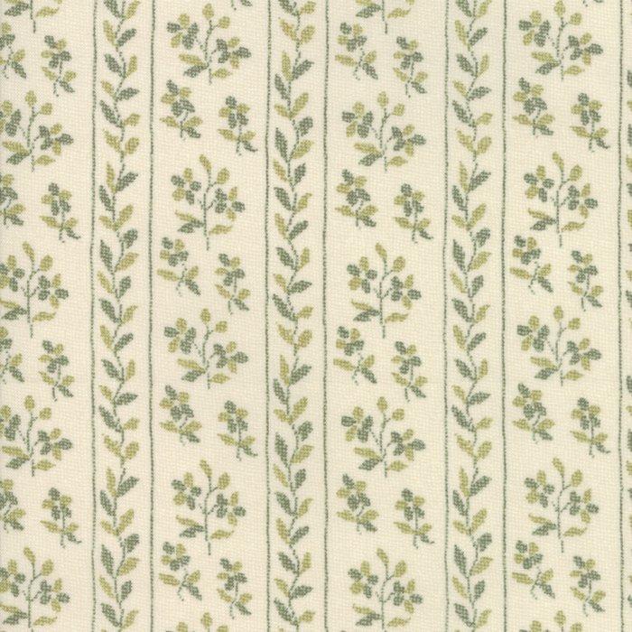 Fabric - Jardin d' Ver - Cstl Gry 13813-14