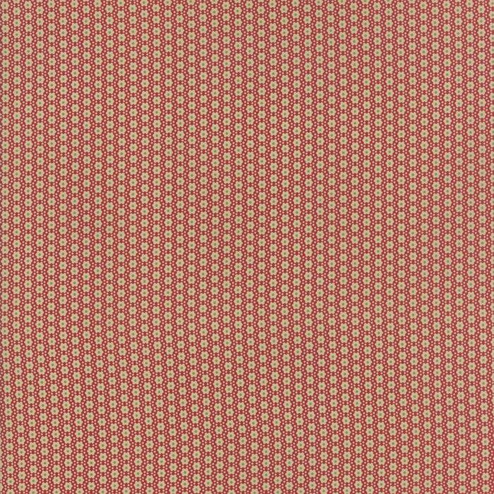 Fabric - Jardin d' Ver - Rouge 13818-11