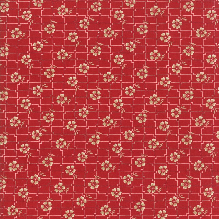 Fabric - Farmhouse Reds (Red) 14852-11