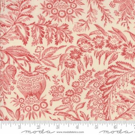 Fabric - Petites Maisons De Pearl Rouge - 13798-13