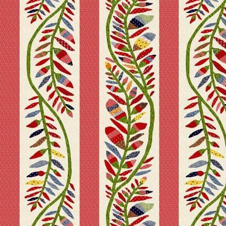 Fabric - Multi Large Stripe Reproduction Fabric