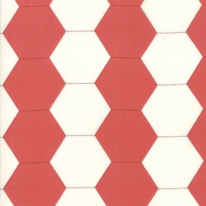 Fabric - Victoria - Rouge - 44162-14