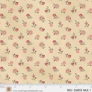 Fabric - Mississippi Beige Repro - 26852-MUL1