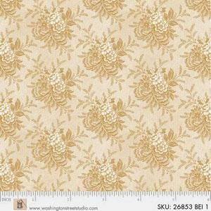 Fabric - Mississippi Beige Repro - 26853-BEI1