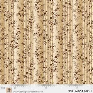 Fabric - Mississippi Beige Repro - 26854-BRO1