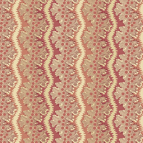 Fabric - Windermere Lace - Rose