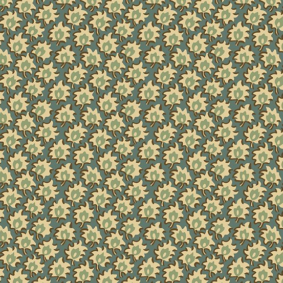 Fabric - Windermere Floret - Teal